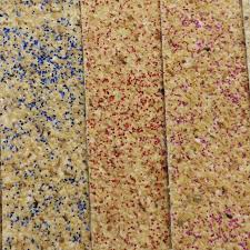 Cork Material Glitter Soft Cork Synthetic Leather Fabric Faux Leather Fabric