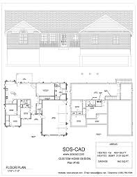 Cad House Plans by House Plans Sds Plans