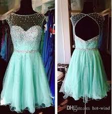mint green homecoming dresses 2016 high junior prom dresses