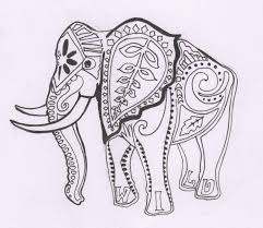 printable 18 indian elephant coloring pages 6728 indian elephant