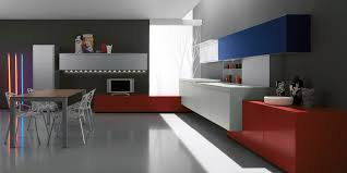 contemporary kitchen glass steel acrylic artematica