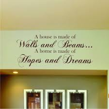 kitchen stick on quotes home design ideas essentials hopes dreams wall sticker dream wall sticker ebay