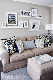 Living Room Wall Decor Ideas Pinterest Del - Living room wall decoration