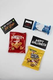 halloween treat bag toppers let u0027s mingle blog