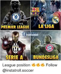 Premier League Memes - fcb helse ball premier league la liga r e a l troll football raye