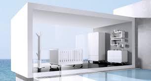 chambre bébé laqué blanc chambre bébé design kurve de alondra chambre bébé design de luxe