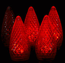 twinkle c9 led red replacement christmas lights novelty lights inc