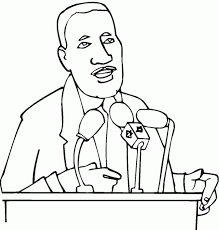 coloring pages of martin luther king jr 519546