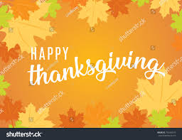 happy thanksgiving text icon vector background stock vector