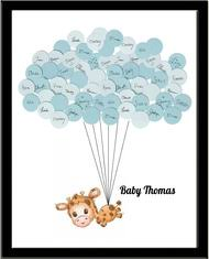 baby shower sign in book baby shower sign in guest book print say anything design