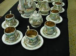 capodimonte cherub u0026 dragon espresso demitasse set never used w