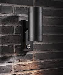 Garden Wall Lights Patio Led Outside Wall Lights Black Led Wall Mounted Uplighters Black