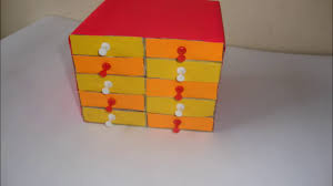 diy matchsticks box craft matchbox easy drawers crafts ideas for