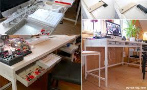 ikea alex desk drawer my ikea alex desk s new table top øyvind teig