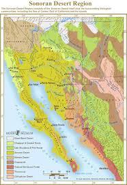 california map desert region desert region map