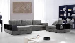 Gray Microfiber Sectional Sofa by Modern Microfiber Sectional Sofas 8527