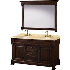 mirrors bathroom cherry finish 26 inches home