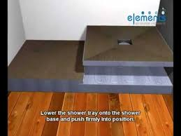 how to make a wetroom stepped access