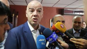 news iran gianni infantino says he has raised the issue of being