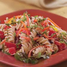 garden pasta salad recipe eatingwell