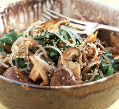 sweet potato noodles japchae recipe epicurious com