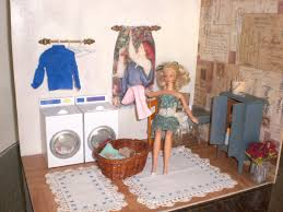 House Design Games Barbie by Homemade Barbie Furniture Barbie Doll House Laundry Room