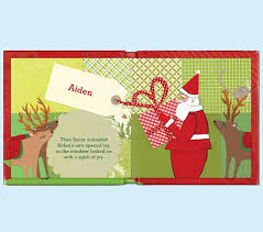 christmas personalized my merry christmas personalized book pottery barn kids