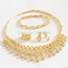 golden fashion necklace images Cz aaaa quality choke necklace girlfriends gift dubai gold african jpg