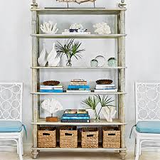 how to decorate a bookshelf how to decorate a bookshelf coastal living