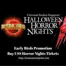 halloween horror nights and islands of adventure tickets universal studios singapore u2013 halloween horror nights 6 2016