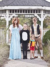 Family Of 4 Themed Halloween Costumes Pinocchio Themed Family Costume U2013 A Beautiful Mess