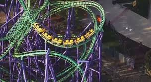 Six Flags Texas Death Passengers Rescued From Roller Coaster At Six Flags America