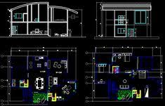 security guard house floor plan house security guard house design cad drawings autocad pinterest