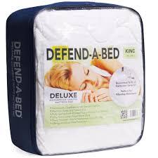 premium full size waterproof mattress pad and protector mp0001