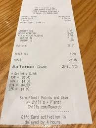 chili s bar grill s apopka vineland rd orlando menu prices