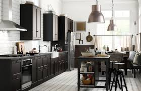 basic black trend in kitchen décor serves up style home and