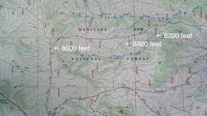 How To Read Topographic Maps Topographic Maps Just Trails