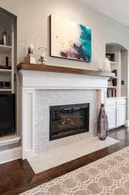 amazing living room complete with corner fireplace white simple