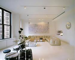 Beautiful Small Apartment Lighting Decor Home Round Apartment