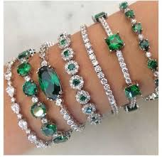 diamond emerald bracelet images Emeralds diamonds i don 39 t normally love emeralds but these jpg