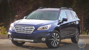blue subaru 2017 2017 subaru outback review and road test youtube