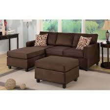 suede sectional sofas microfiber sectional sofa with ottoman foter