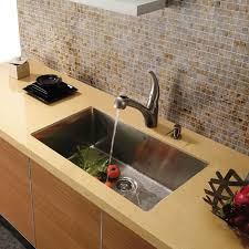 Au Courant Stainless Steel Sinks Abode - Large kitchen sinks stainless steel