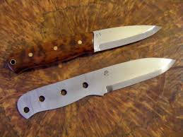 Knife Patterns Frenchy U0027s Custom Knives And Sticks Bushcraft Style Knives The
