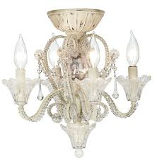 White Ceiling Fan With Chandelier Light Crystal Ceiling Fan Light Kit 10 Methods To Modernize Your