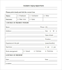 Incident Investigation Report Template by Incident Report Pdf Sle Incident Investigation Report Template