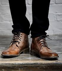 men s tall lace up motorcycle boots men u0027s leather boots wingtip cap toe rugged bed stu