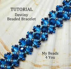 bead bracelet design images Beading tutorialpdf beaded bracelet patternembellished jpg