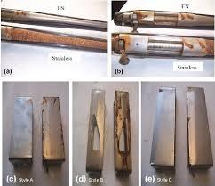 will stainless steel rust electroless nickel plated steel versus stainless steel case studies