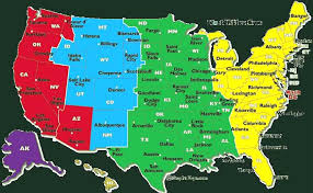 united states map with state names and time zones idaho time zone map usa time zone map current local in